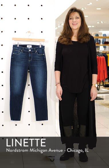 Transcend Vintage - Skyline Raw Hem Crop Skinny Jeans, sales video thumbnail