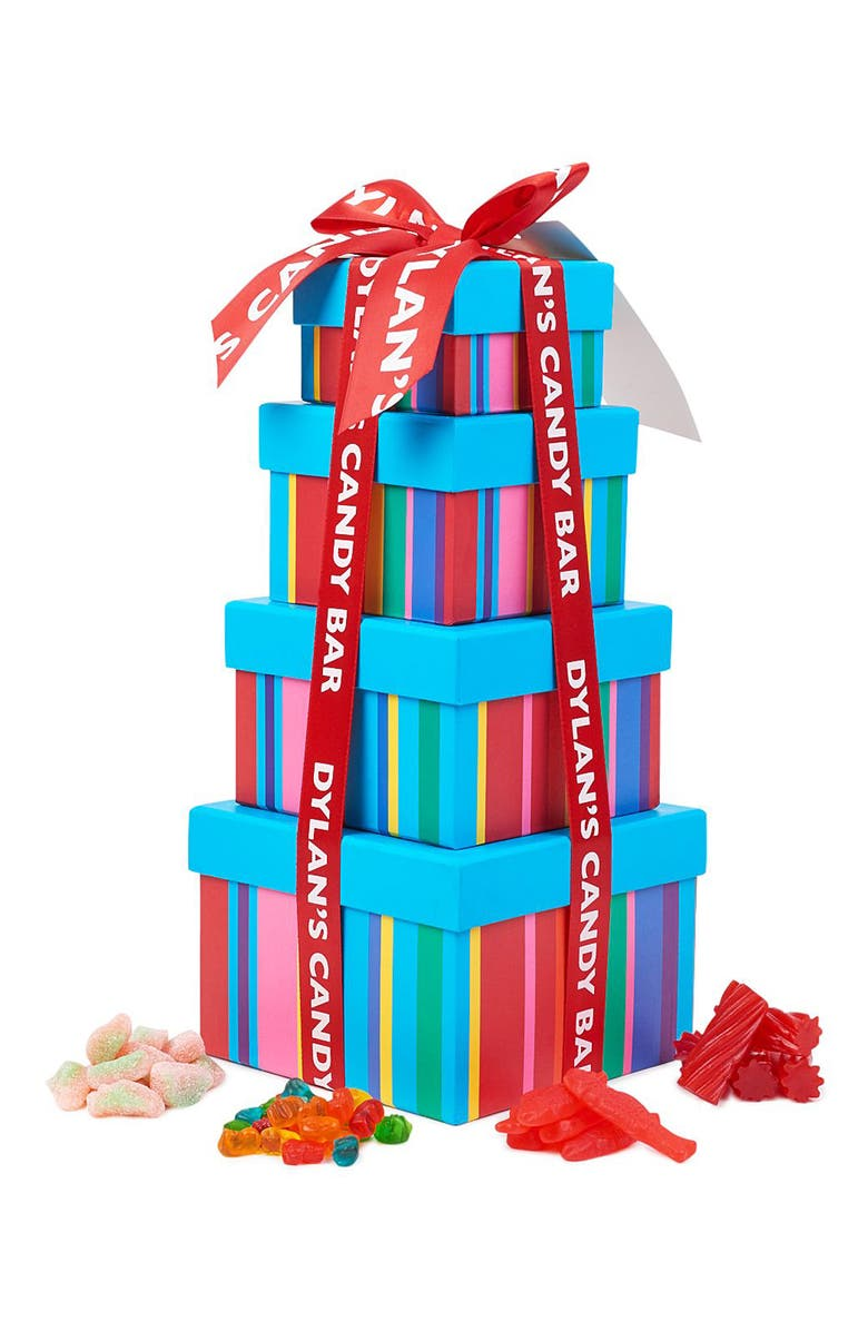 DYLAN'S CANDY BAR Gummy Sweet Treat Tower, Main, color, BLUE