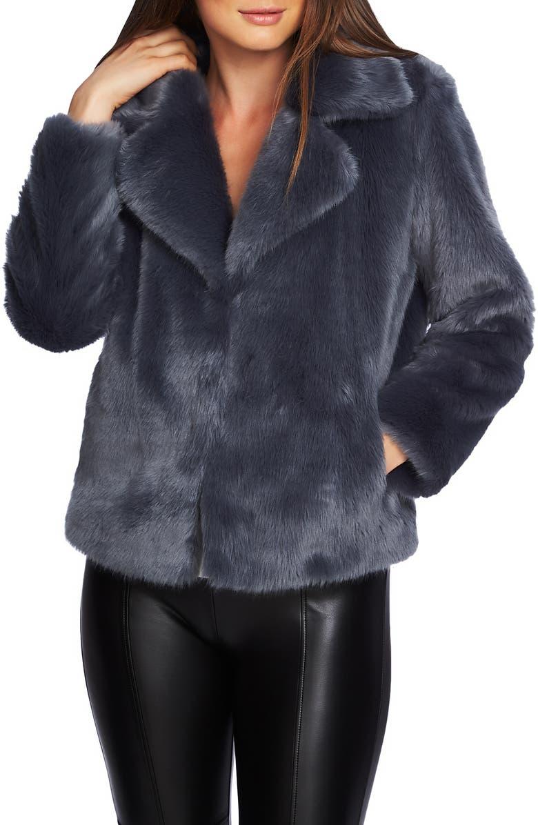 1.STATE Crop Faux Fur Jacket, Main, color, 437