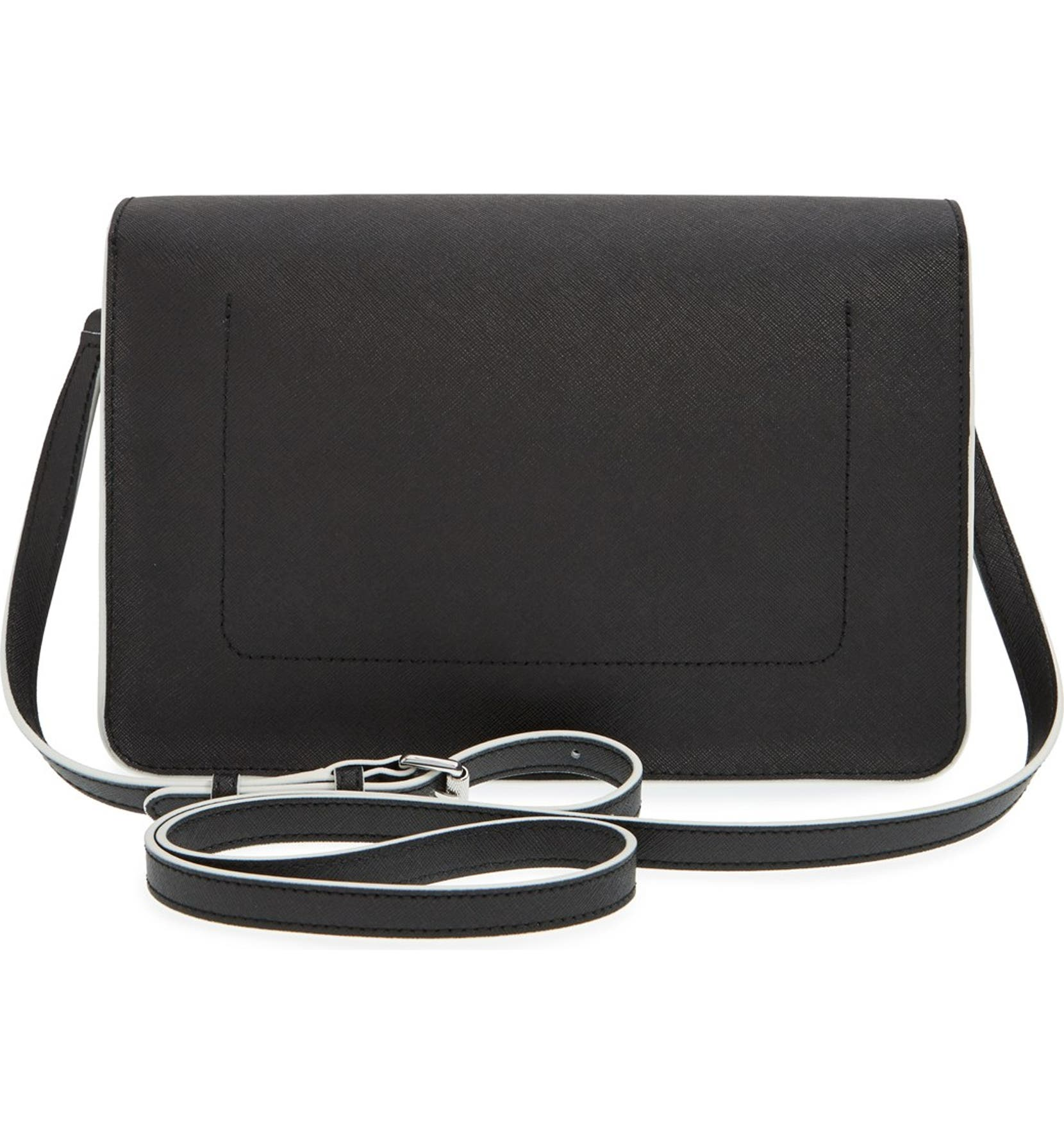 7083d9cac MARC BY MARC JACOBS 'Lip Lock' Coated Leather Messenger Bag   Nordstrom