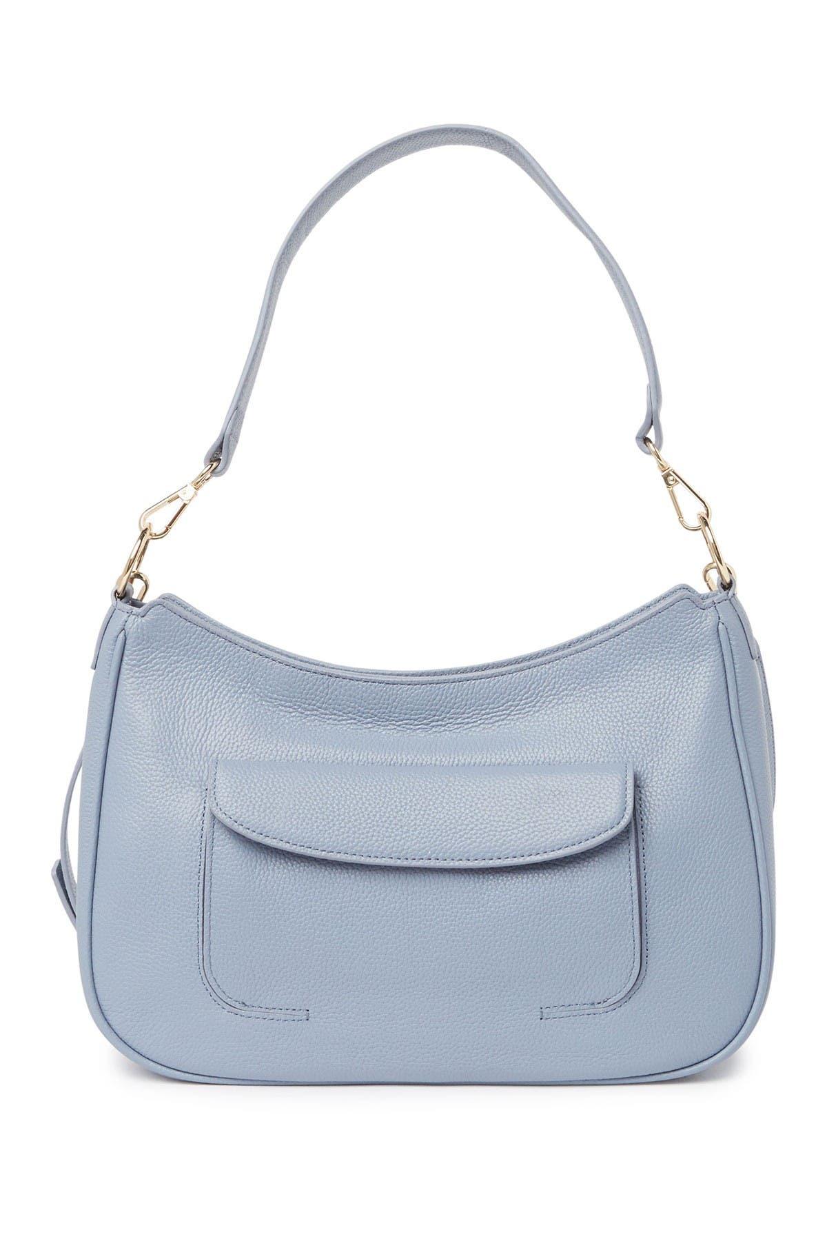 Image of Nordstrom Finn Leather Hobo Bag