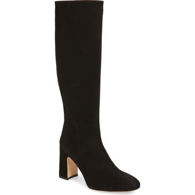 Stuart Weitzman Talina Knee High Boot- Black