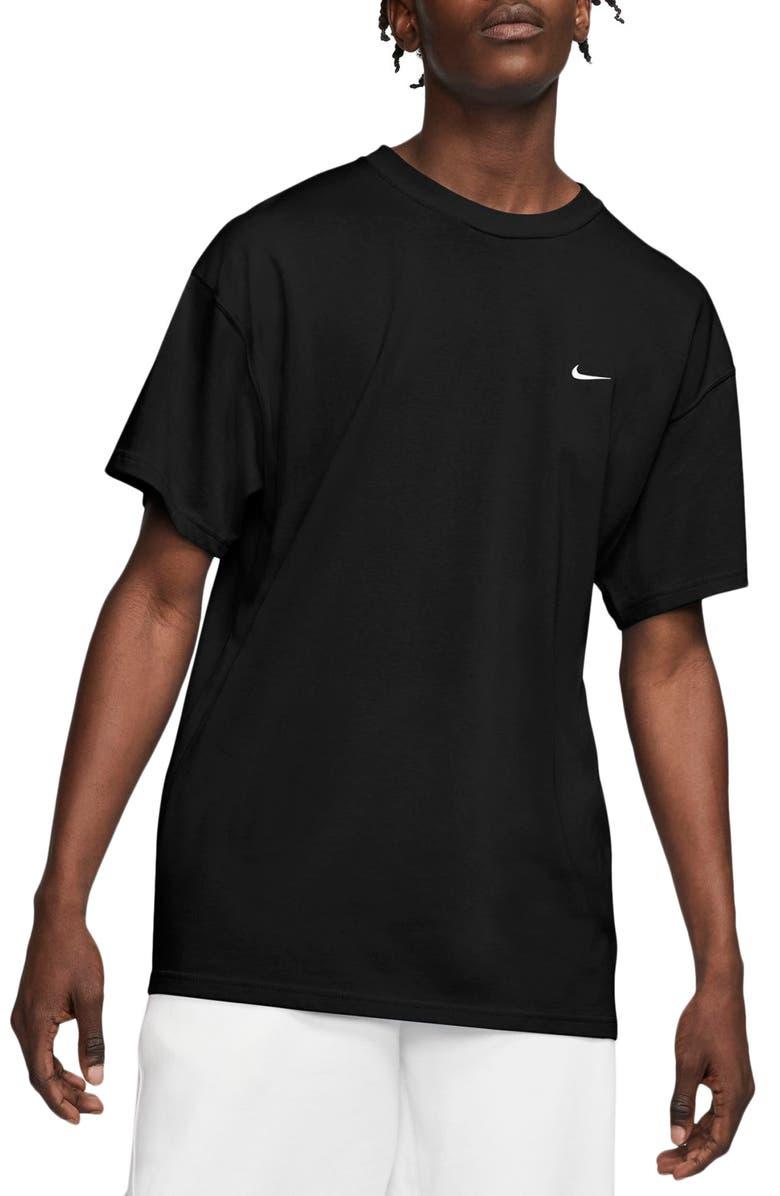 NIKE Lab Crewneck T-Shirt, Main, color, BLACK/ WHITE