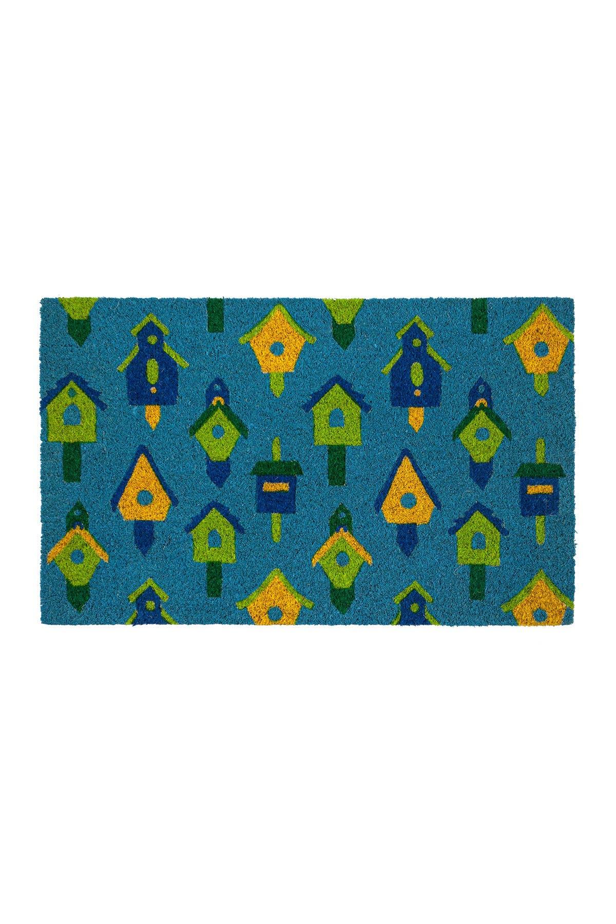 Image of ENTRYWAYS Birdhouses Coir Doormat