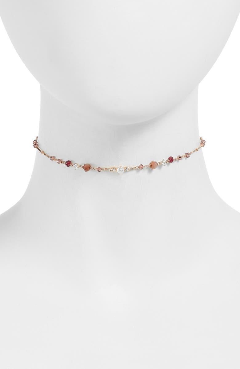 NADRI Choker Necklace, Main, color, 600