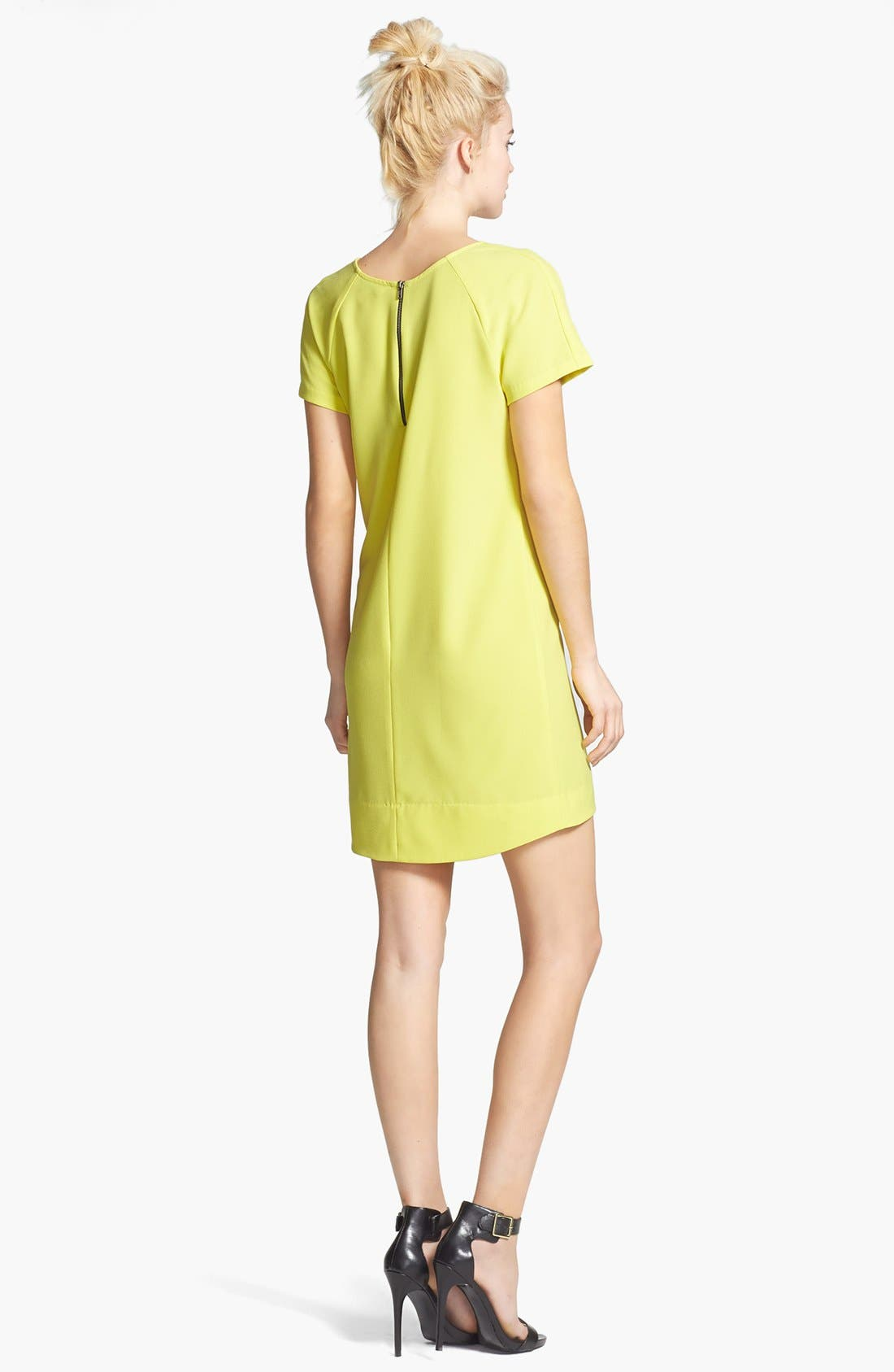 ,                             Crepe Shift Dress,                             Alternate thumbnail 17, color,                             720