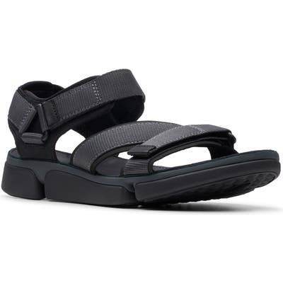Clarks Tricove Sun Sandal- Black