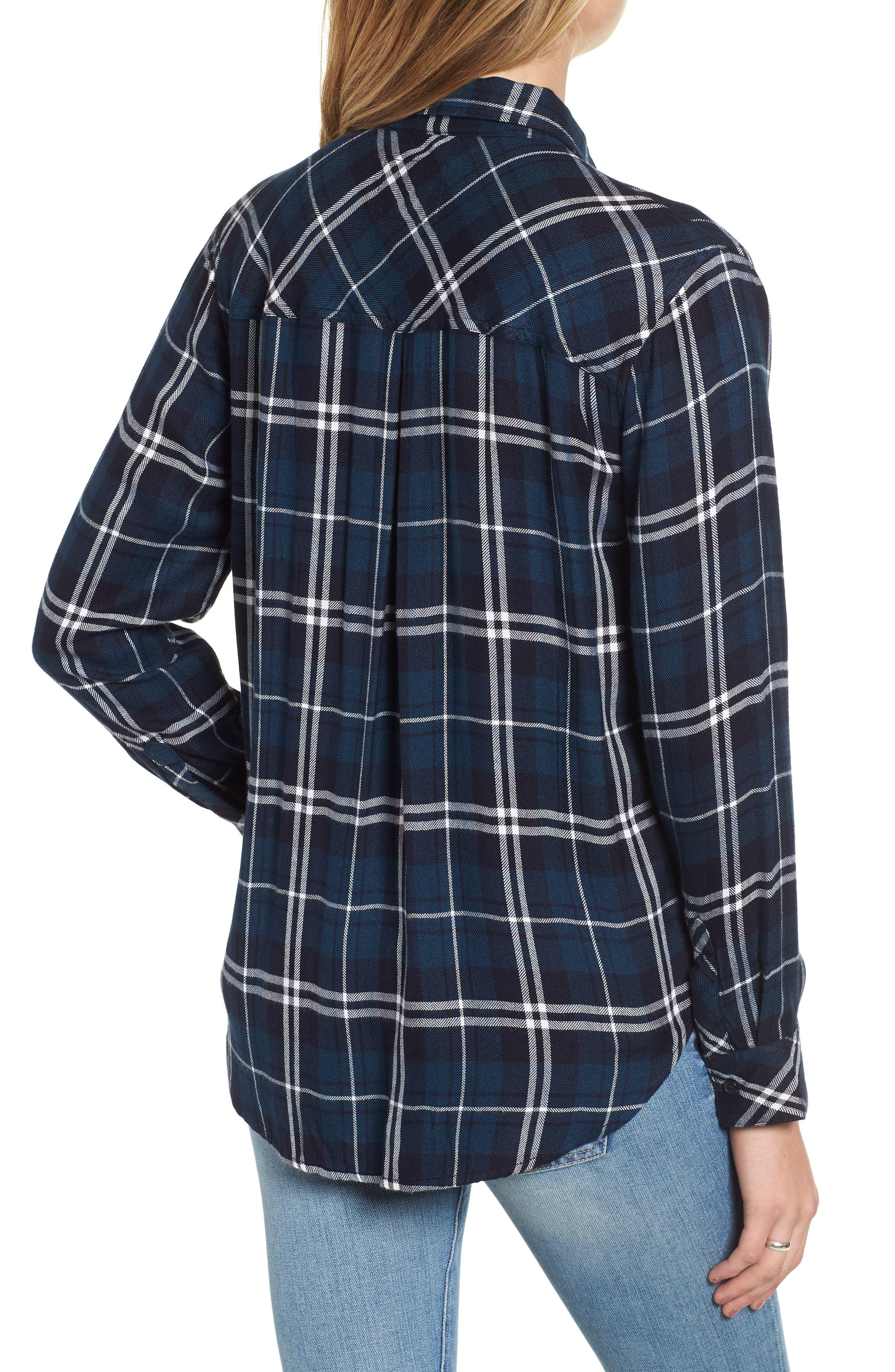 ,                             Hunter Plaid Shirt,                             Alternate thumbnail 814, color,                             432
