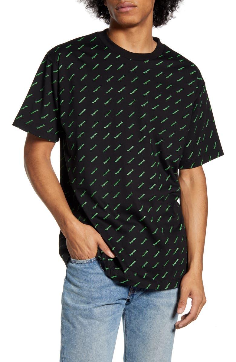 WESC Mason Legend Graphic T-Shirt, Main, color, 001