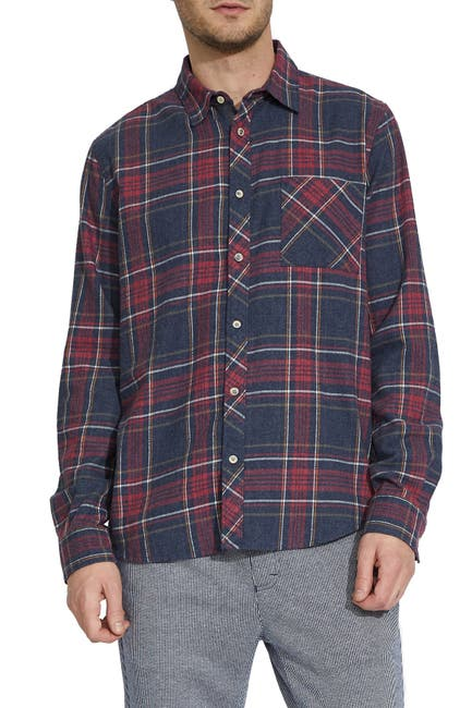 Image of Civil Society Antigua Plaid Flannel Regular Fit Shirt