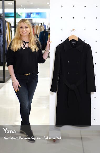 Marjorie Wool Trench Coat, sales video thumbnail