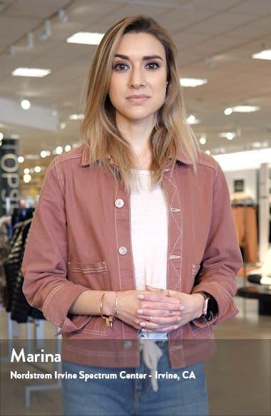 Slim Leather Moto Jacket, sales video thumbnail