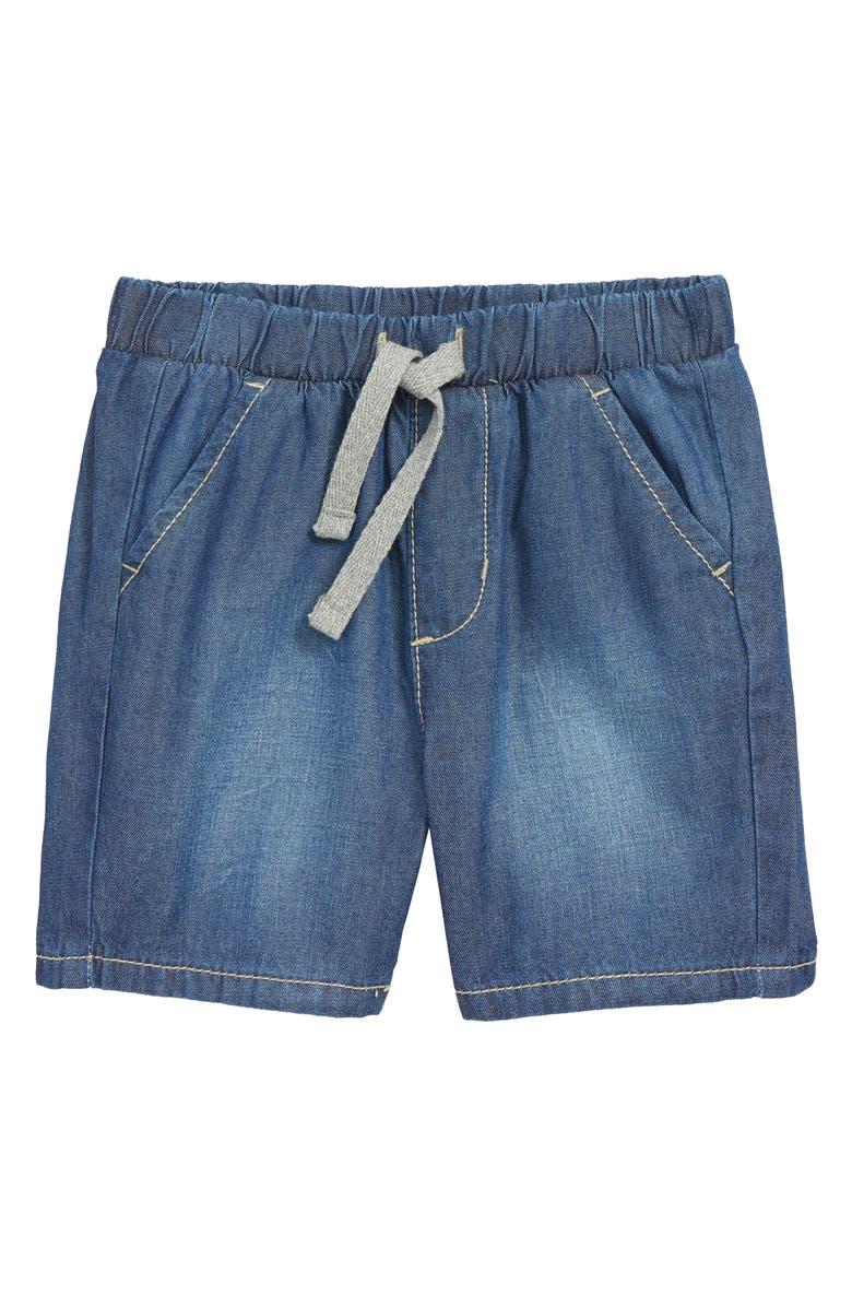 TUCKER + TATE Lightweight Denim Shorts, Main, color, PACIFIC WASH