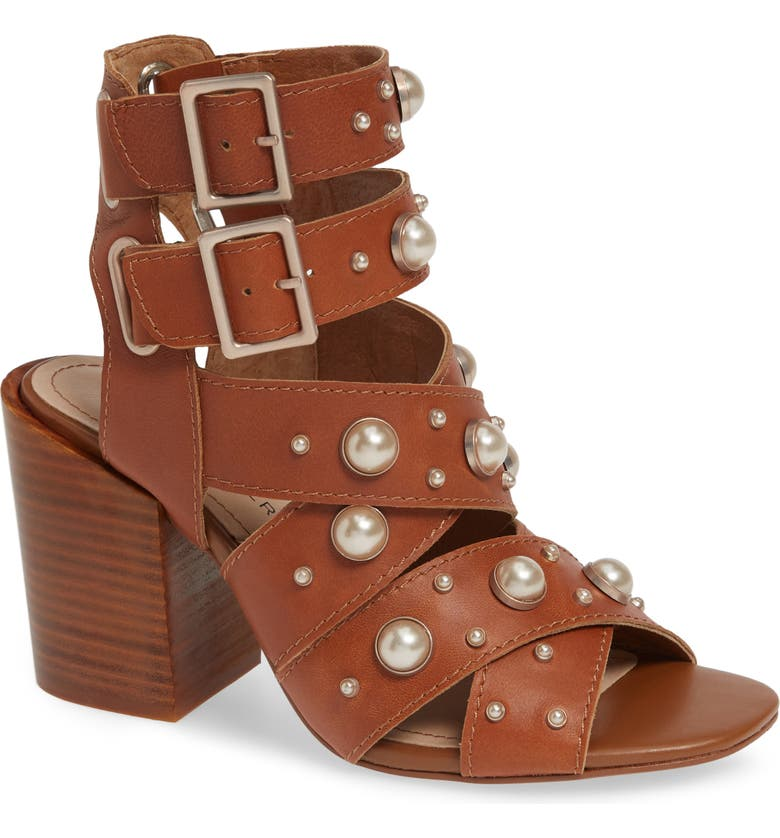KELSI DAGGER BROOKLYN Mallory Sandal, Main, color, SADDLE LEATHER