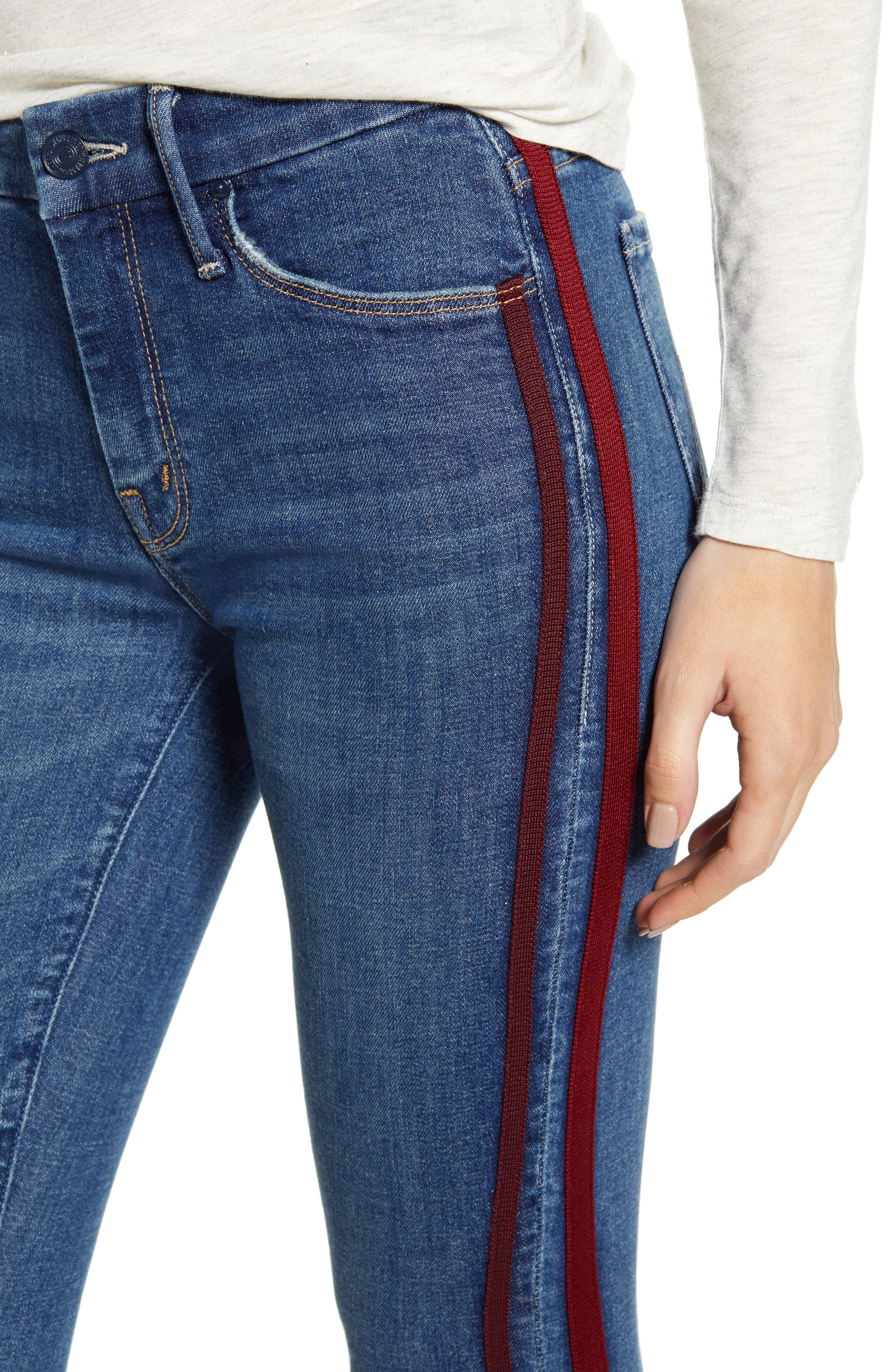 ,                             'The Looker' Frayed Ankle Jeans,                             Alternate thumbnail 11, color,                             420