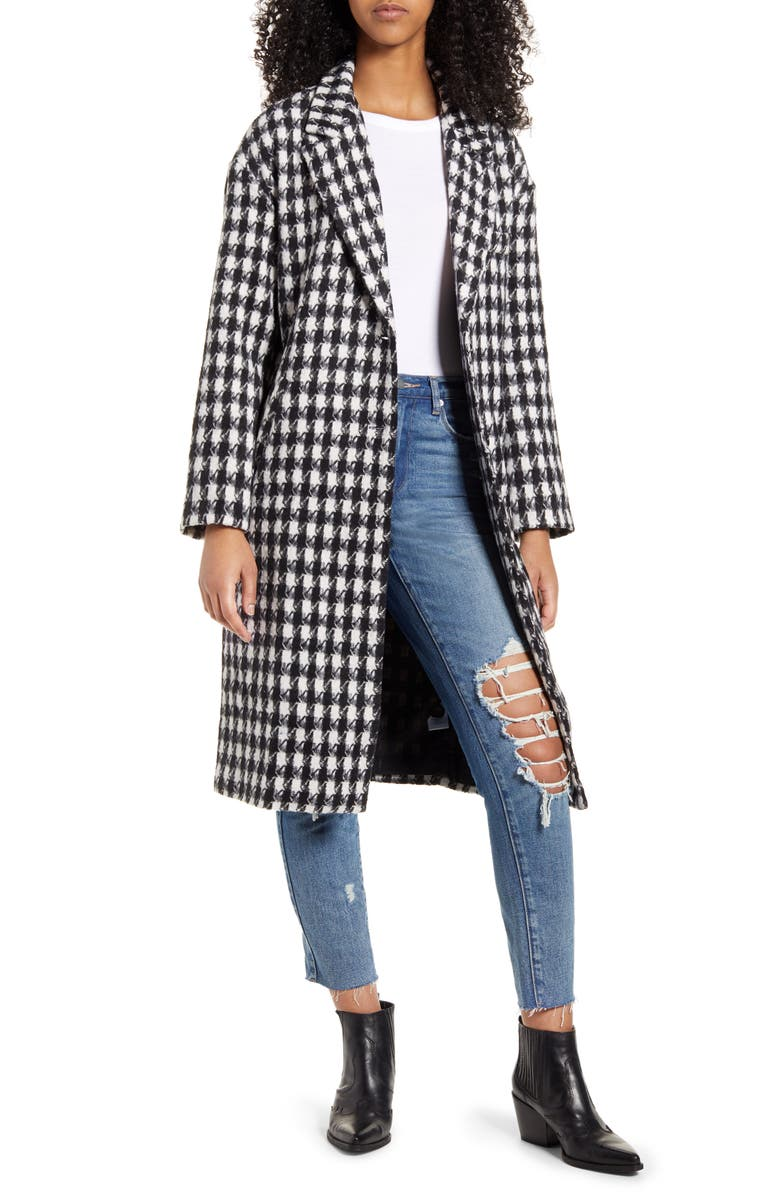 LIRA CLOTHING Brick Lane Coat, Main, color, BLACK