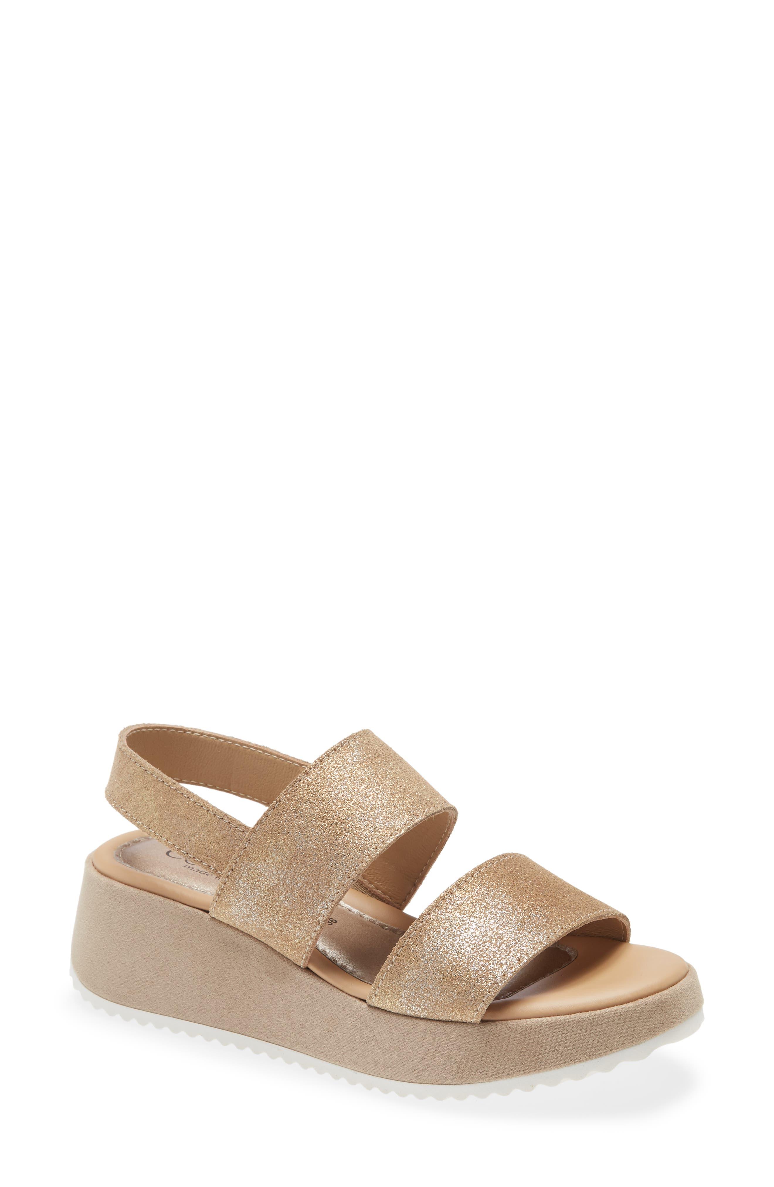 Alisha Wedge Slingback Sandal