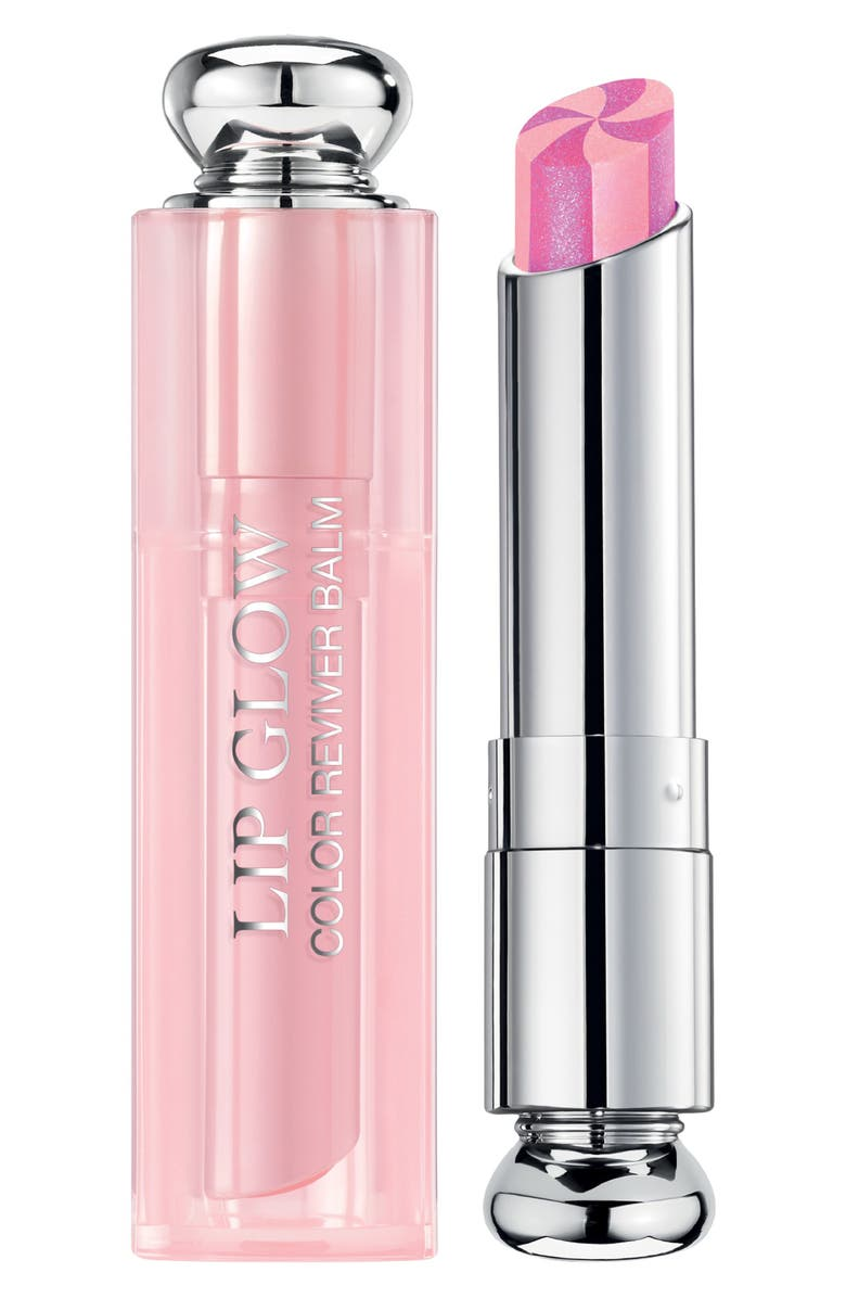 DIOR Lip Glow to the Max Hydrating Color Reviver Lip Balm, Main, color, 209 PURPLE/ HOLOGRAPHIC