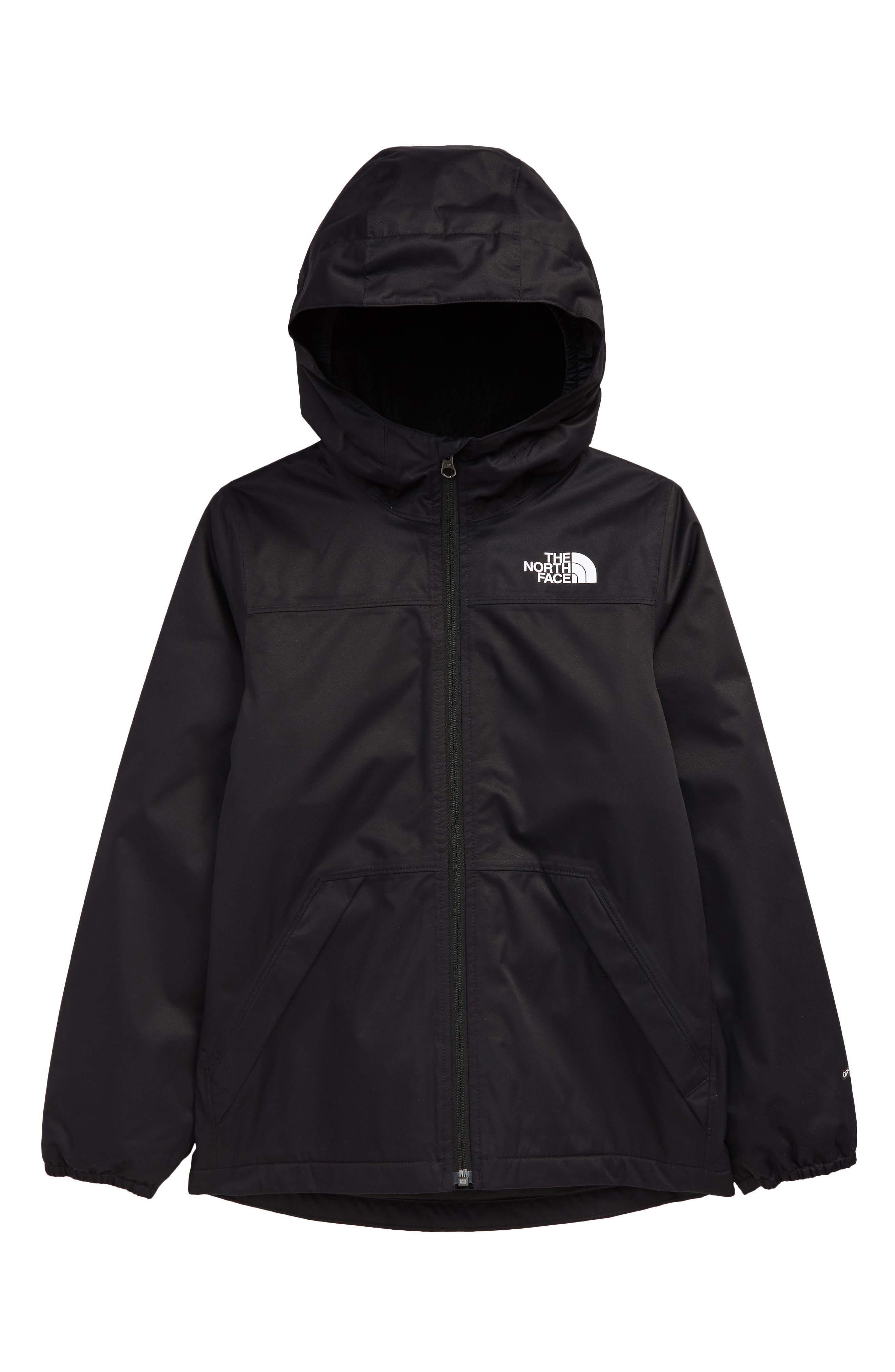 Image of The North Face Kids' Warm Storm Waterproof Hooded Rain Jacket