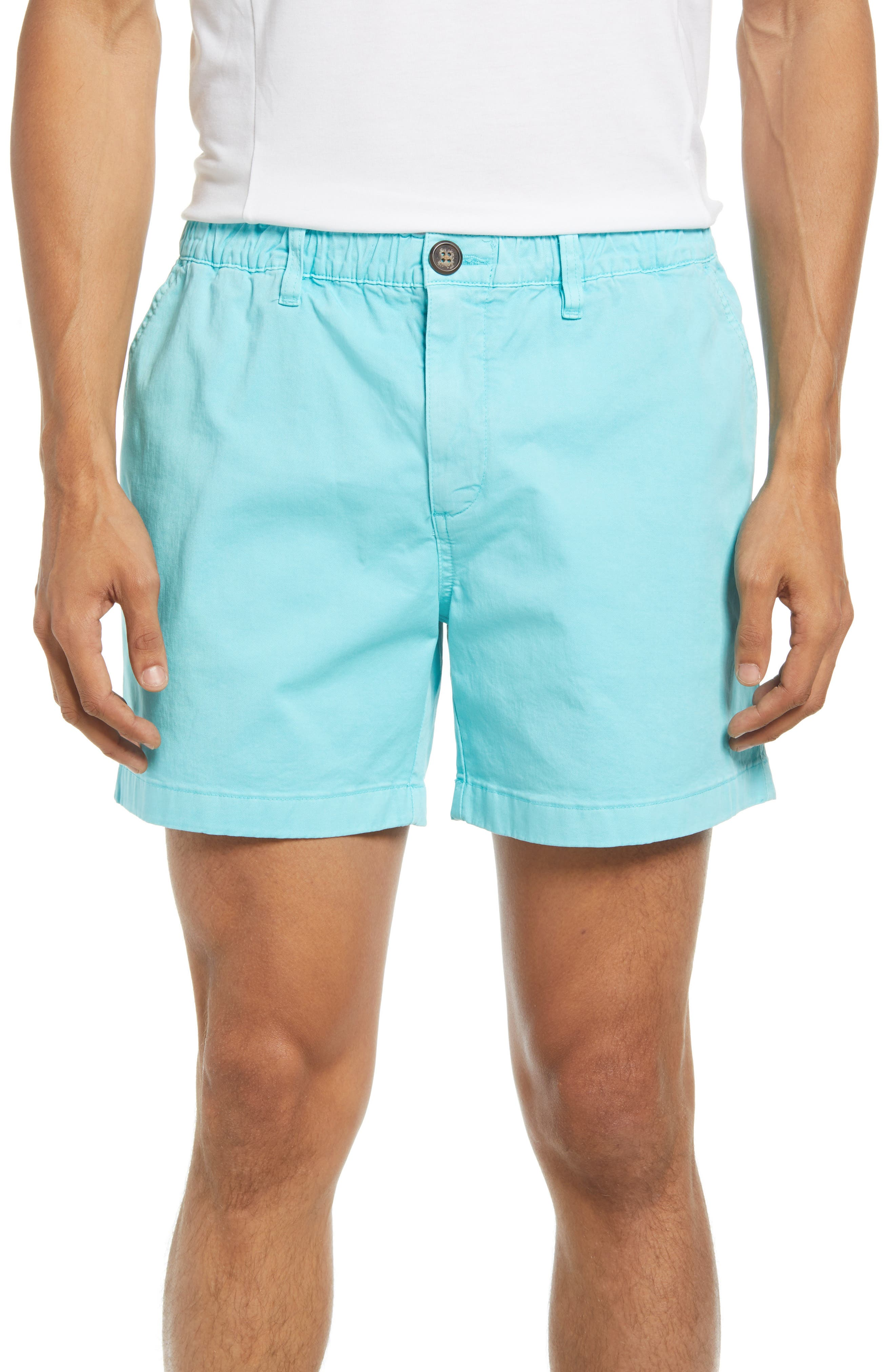 The Light Blue Vault Shorts