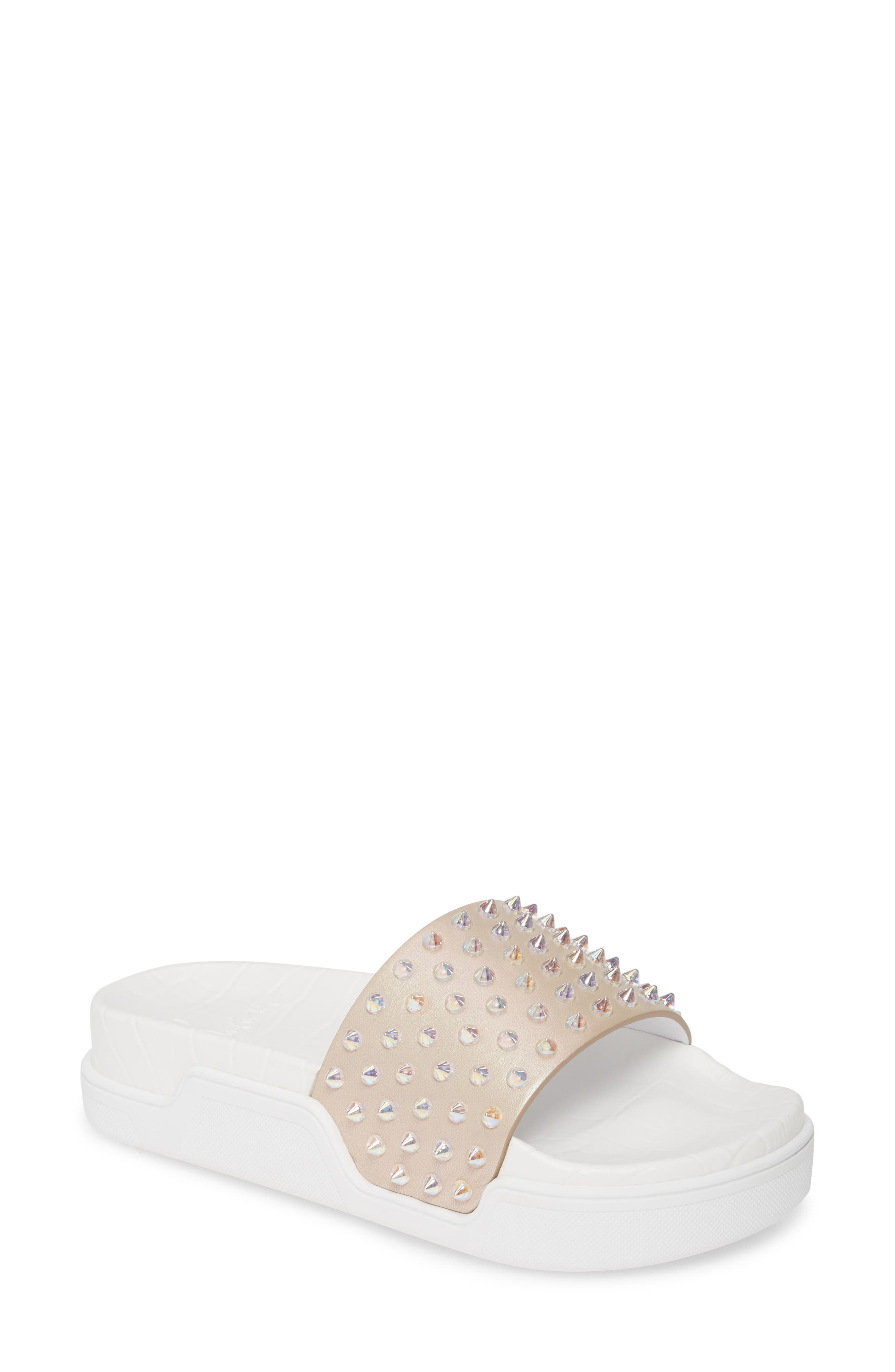 Christian Louboutin Pool Fun Sport Slide Sandal (Women)