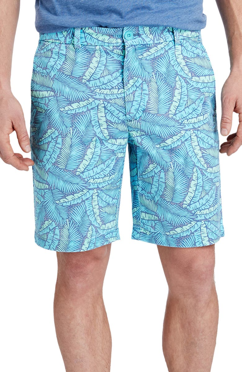 VINEYARD VINES Island Palms Breaker Shorts, Main, color, 461