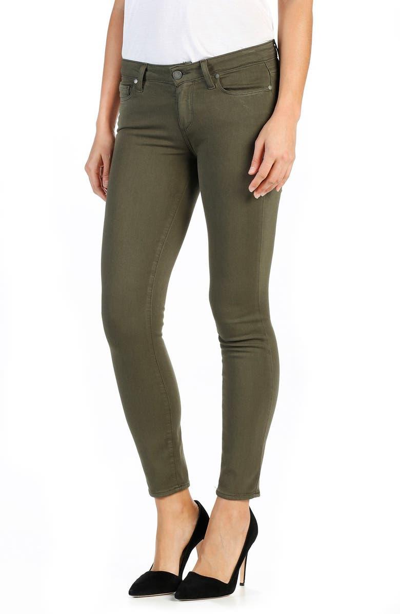 PAIGE Transcend Verdugo Ankle Ultra Skinny Jeans, Main, color, 300