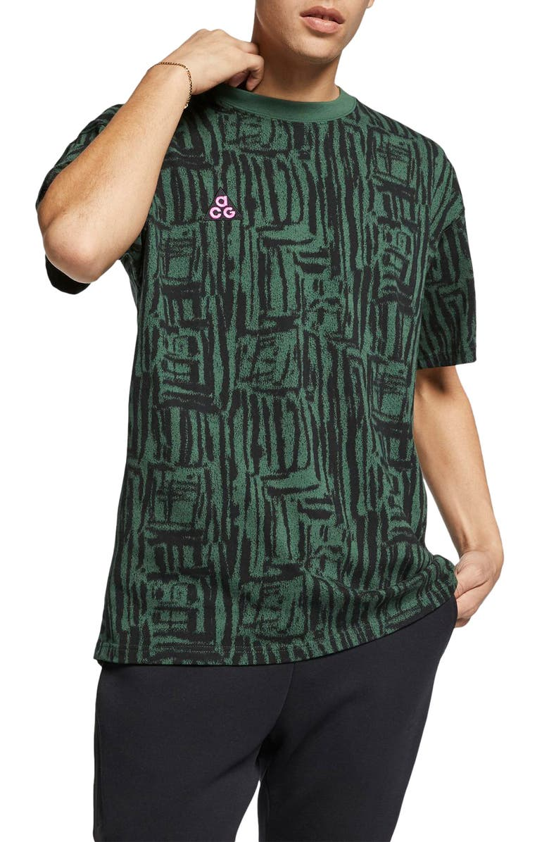 NIKE NRG All Conditions Gear Print Men's Logo T-Shirt, Main, color, 323