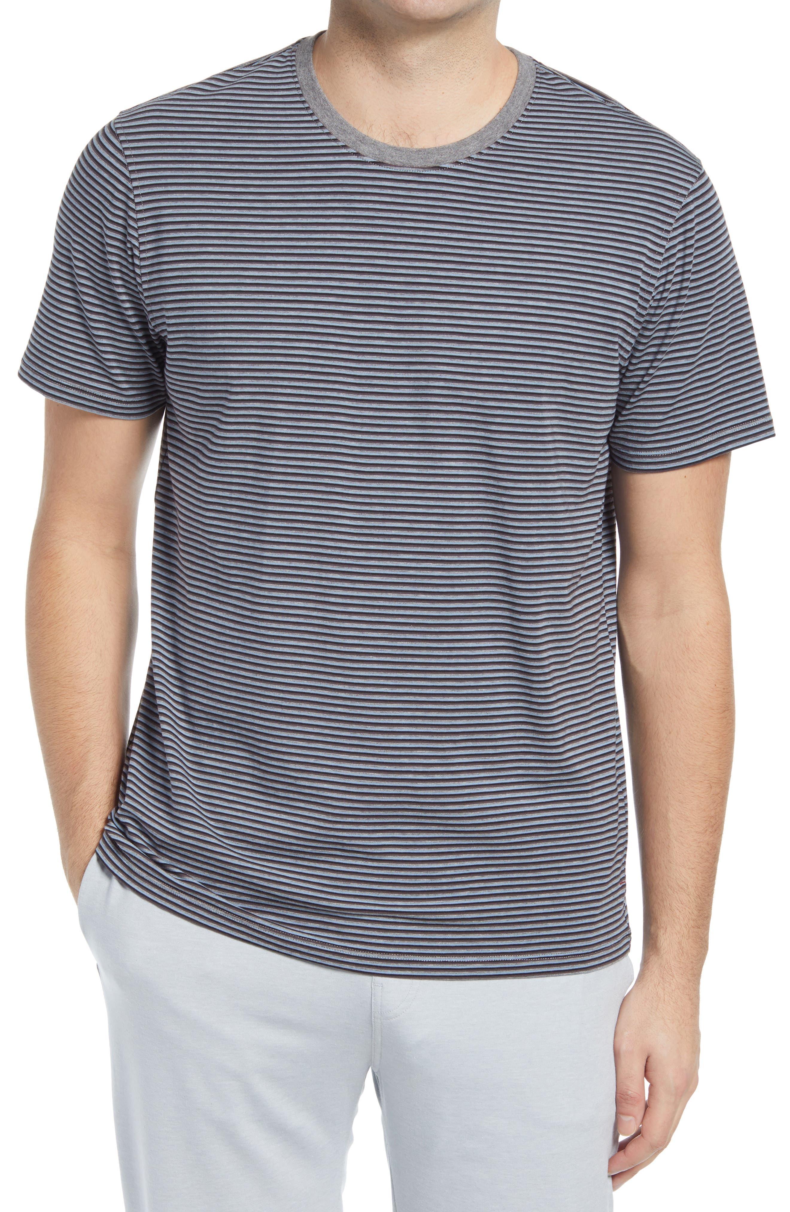 Stripe Crewneck Sleep Shirt