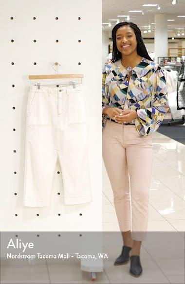 The Lana Denim Midi Skirt, sales video thumbnail
