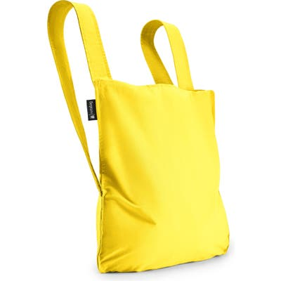 Notabag Convertible Tote Backpack - Yellow