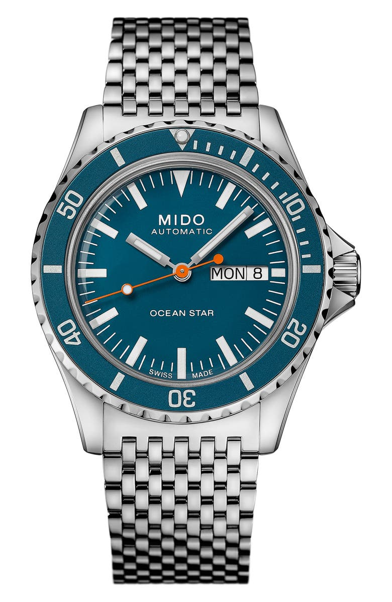 MIDO Ocean Star Tribute Automatic Watch, 40.5mm, Main, color, 040