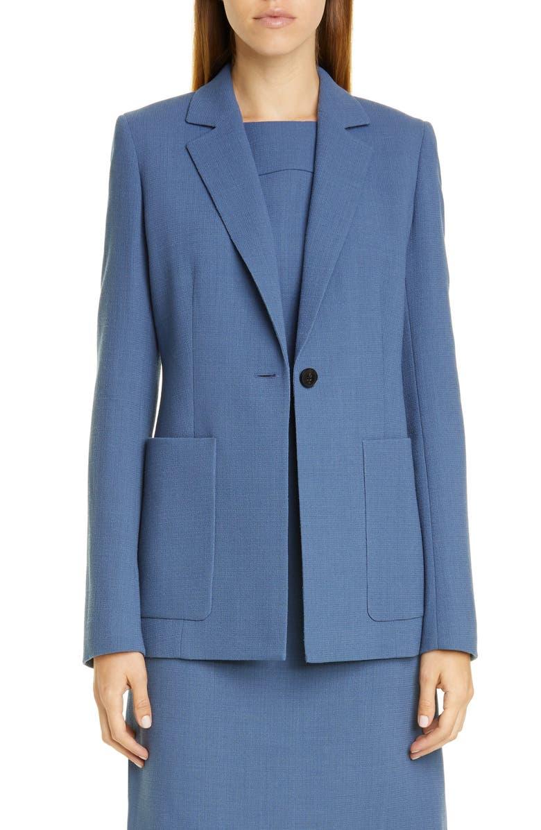 LAFAYETTE 148 NEW YORK Nazelli Jacket, Main, color, PERI