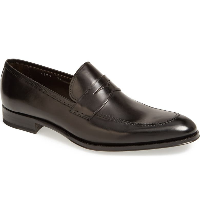 TO BOOT NEW YORK 'Parke' Penny Loafer, Main, color, 001