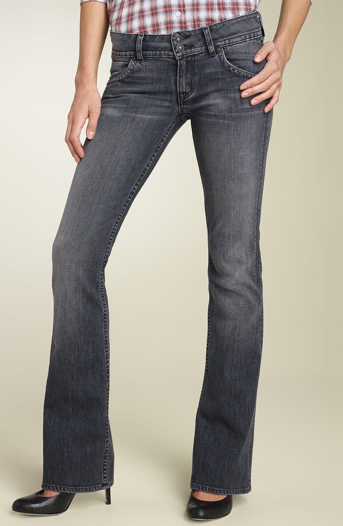,                             Signature Flap Pocket Bootcut Jeans,                             Main thumbnail 14, color,                             020