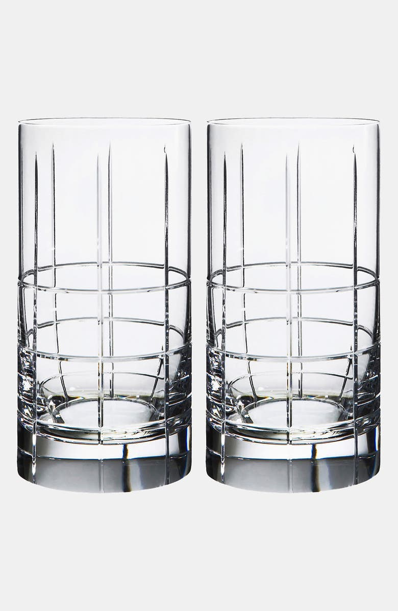 ORREFORS 'Street' Tumblers, Main, color, NO COLOR