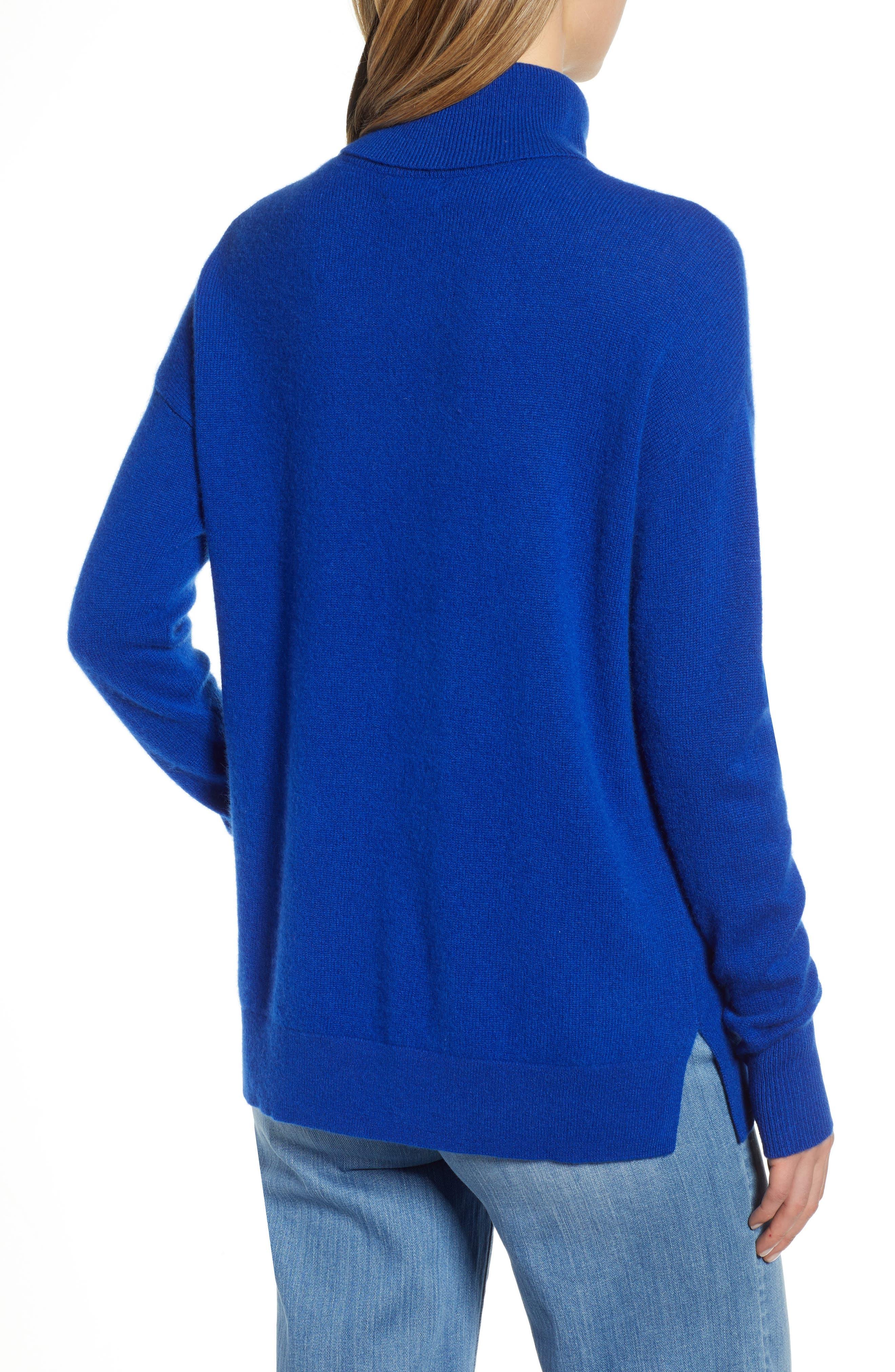 ,                             Cashmere Turtleneck Sweater,                             Alternate thumbnail 26, color,                             401