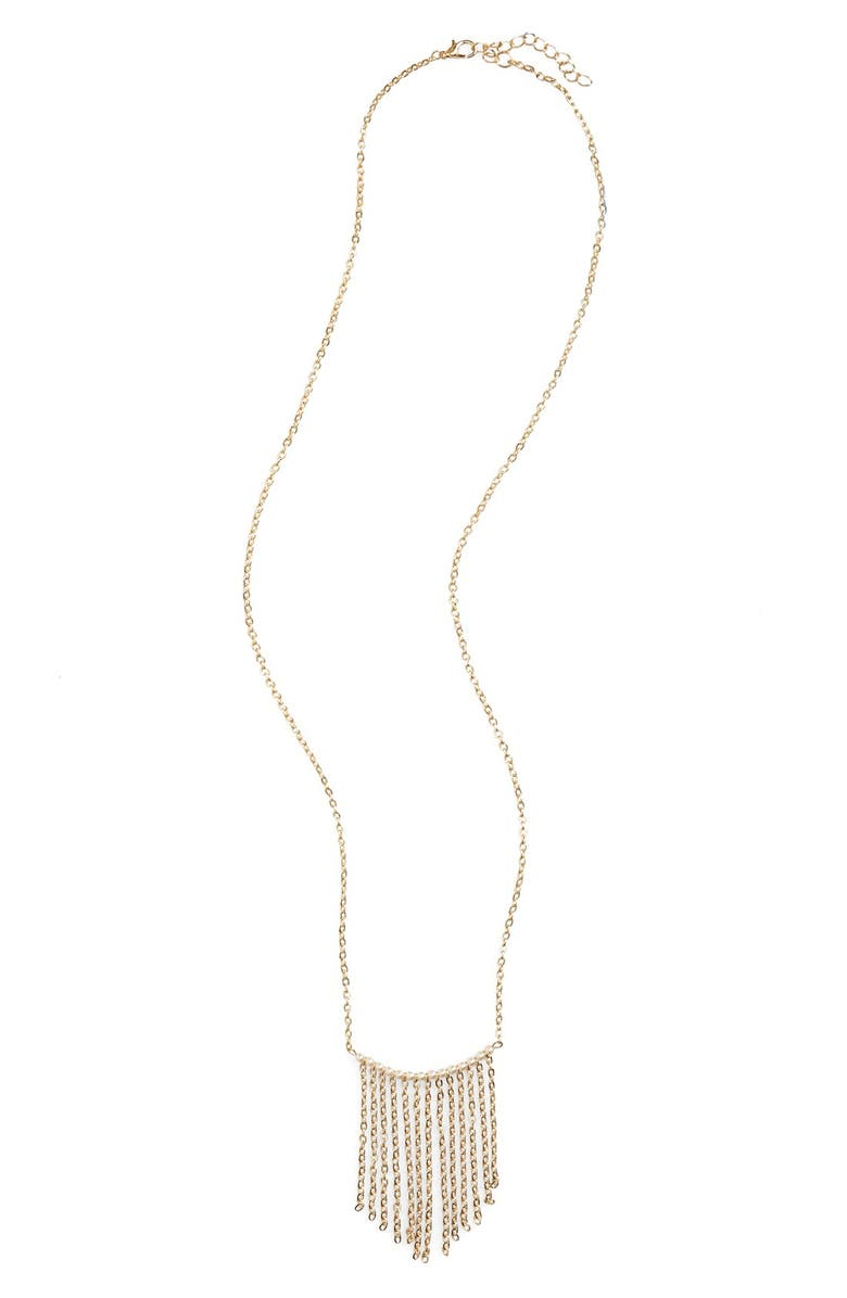 BP. Beaded Tassel Necklace, Main, color, 900