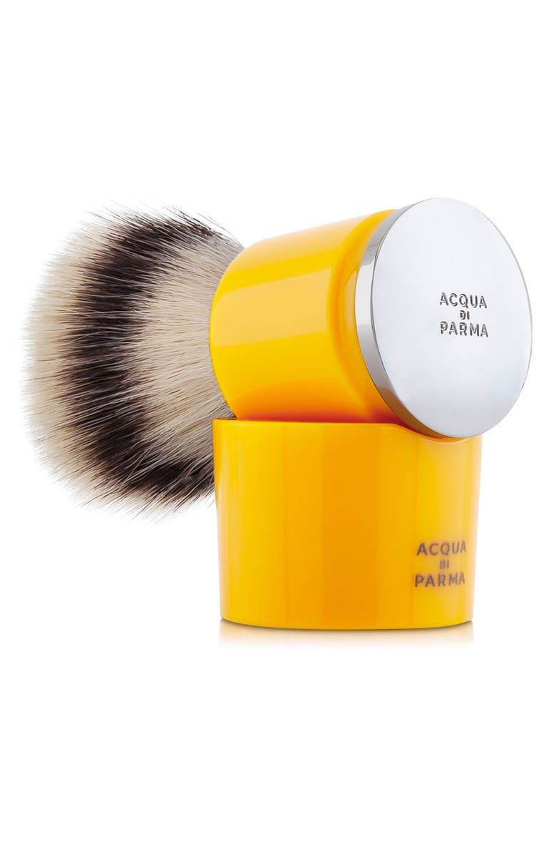 ACQUA DI PARMA Barbiere Yellow Shaving Brush, Main, color, NO COLOR