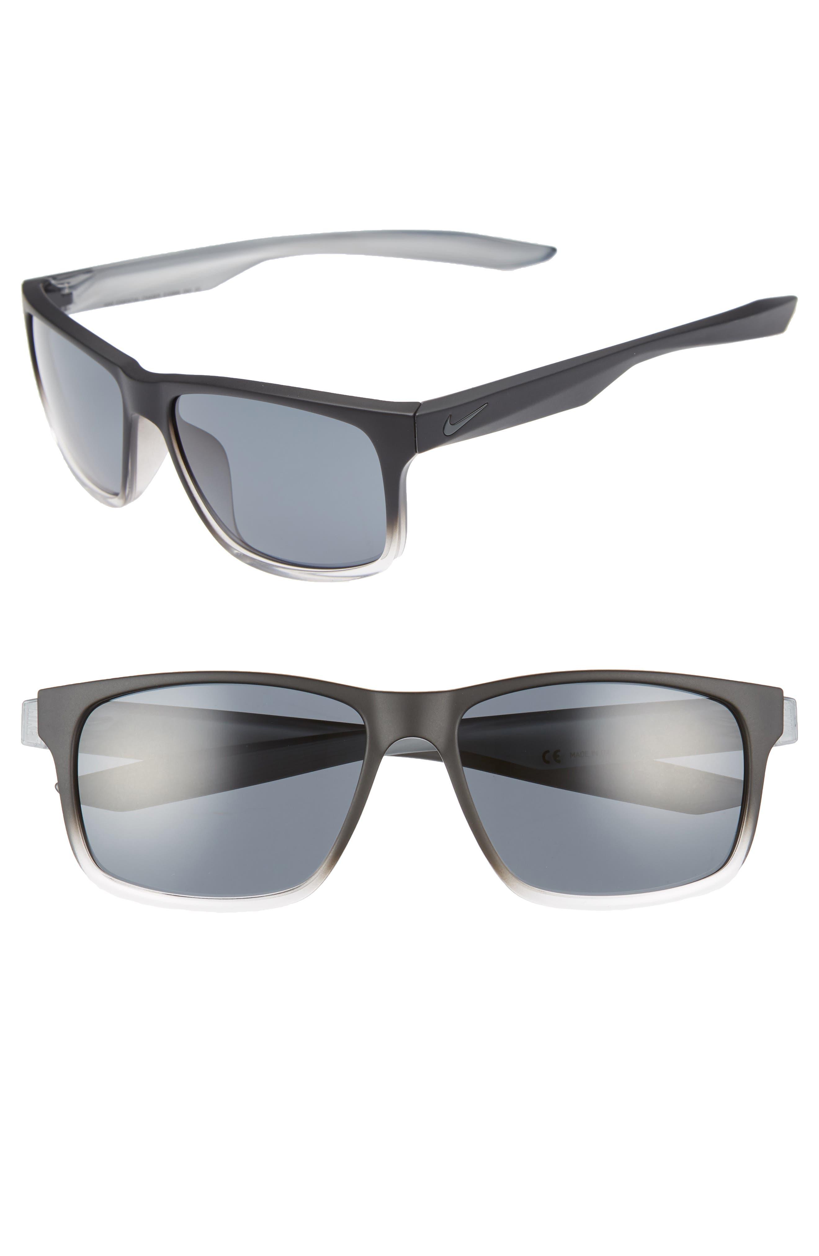 Nike Essential Chaser 5m Sunglasses - Matte Black Crystal/ Dark Grey