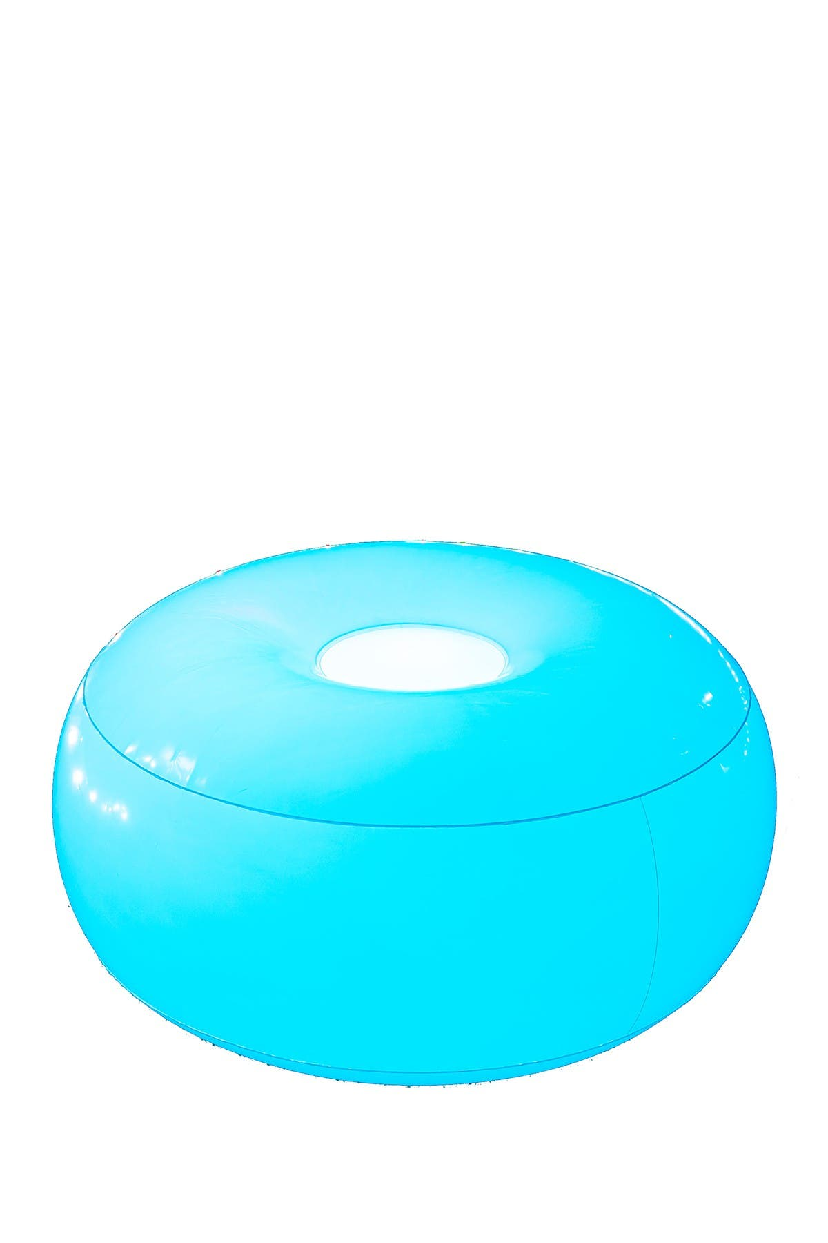 Image of POOLCANDY AirCandy Illuminated LED Inflatable Ottoman