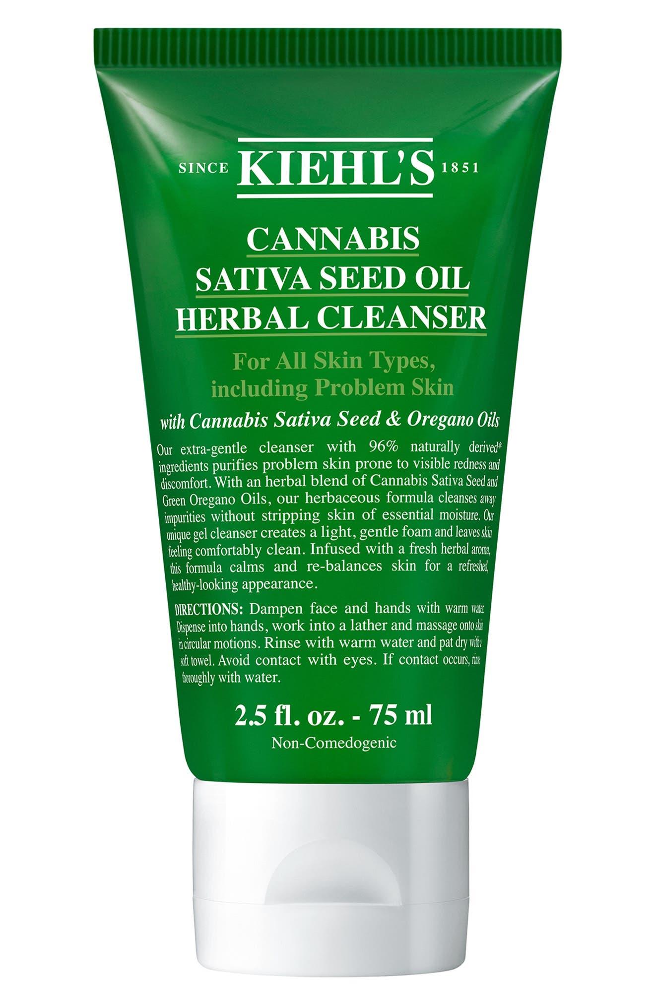 Satvia Seed Oil Herbal Cleanser | Nordstrom