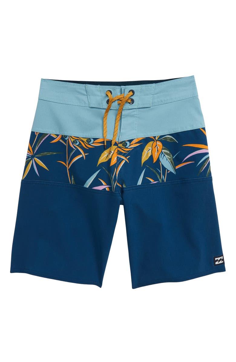 BILLABONG Tribong Pro Board Shorts, Main, color, DUSTY BLUE