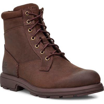 UGG Biltmore Waterproof Plain Toe Boot, Brown
