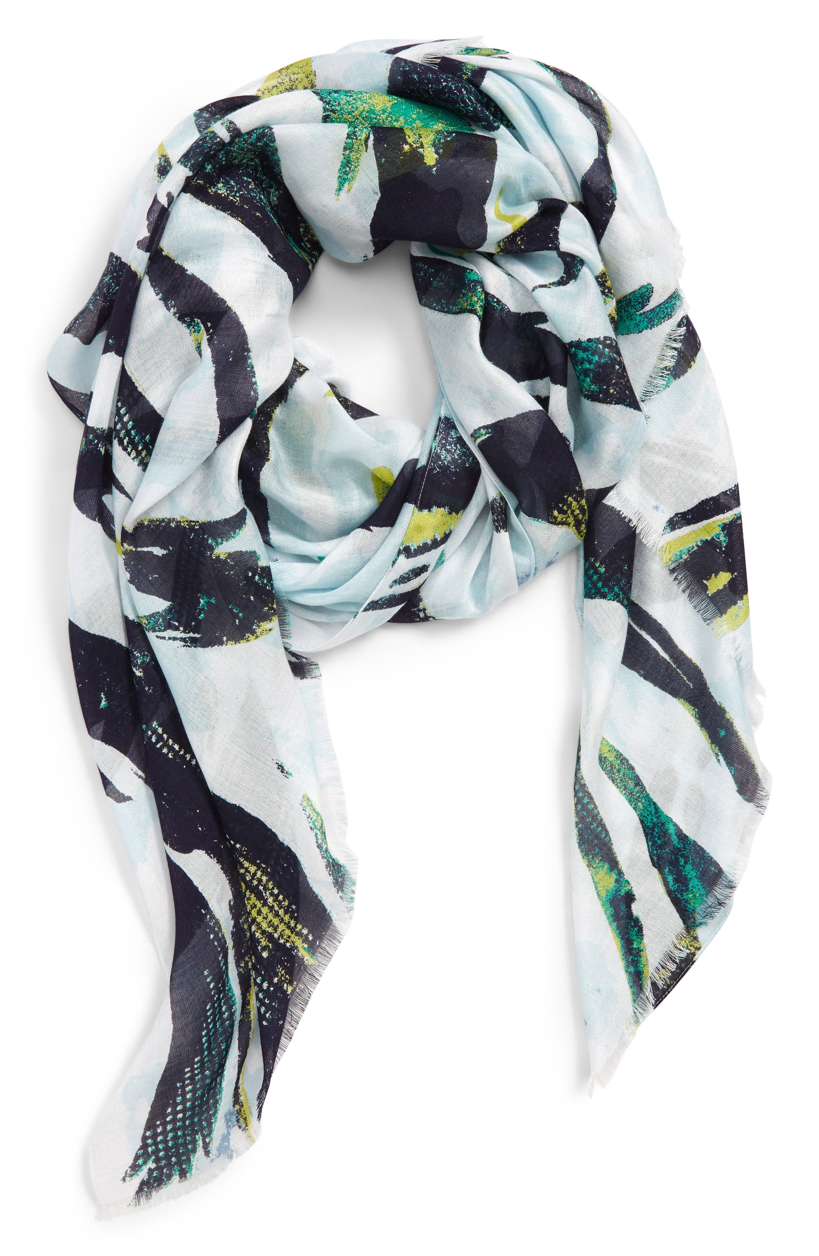 ,                             Print Modal Scarf,                             Alternate thumbnail 2, color,                             310