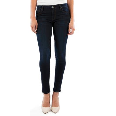 Petite Kut From The Kloth Diana Ankle Skinny Jeans, Blue