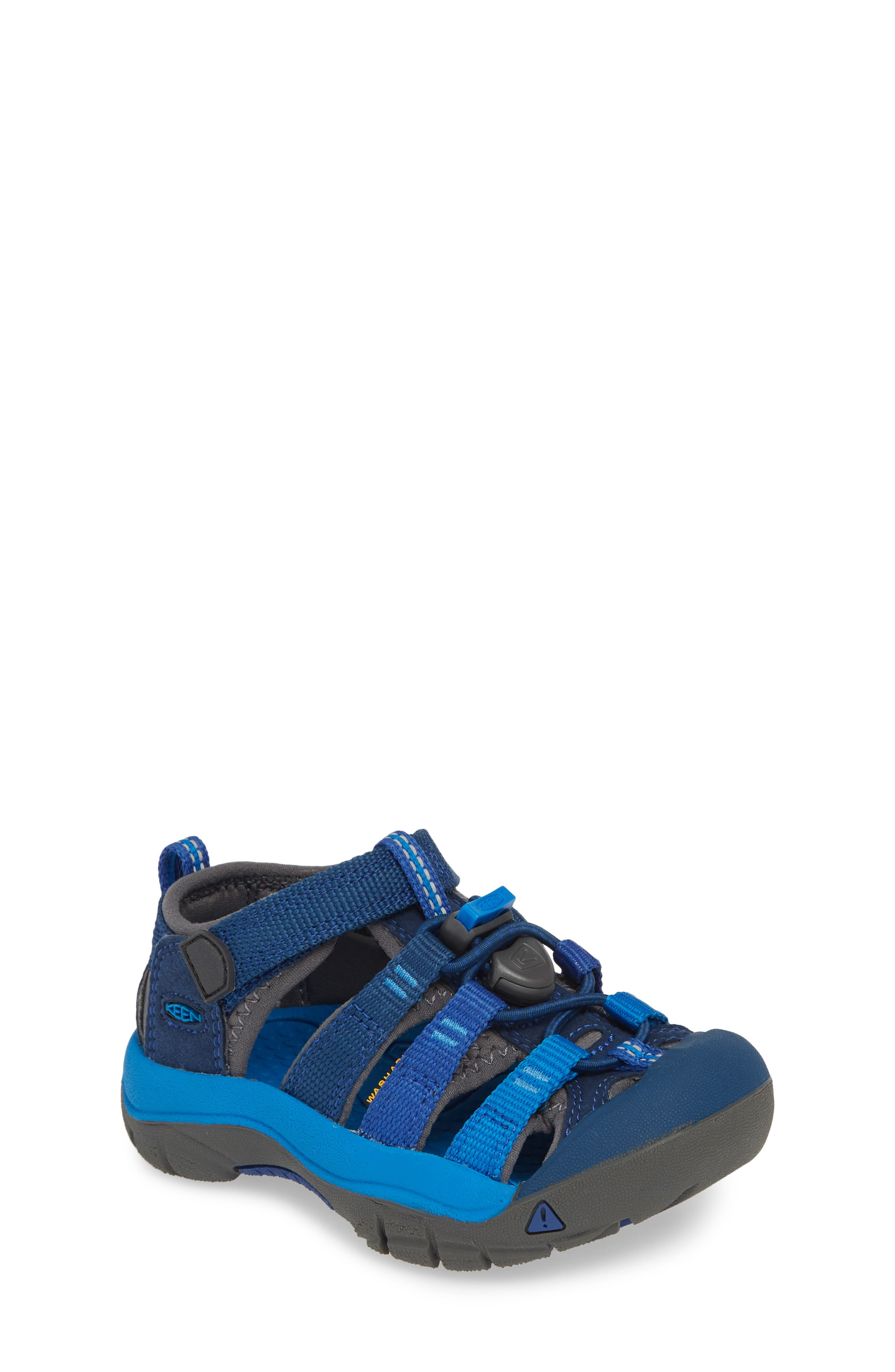 'Newport H2' Water Friendly Sandal, Main, color, BLUE OPAL/ VIBRANT BLUE