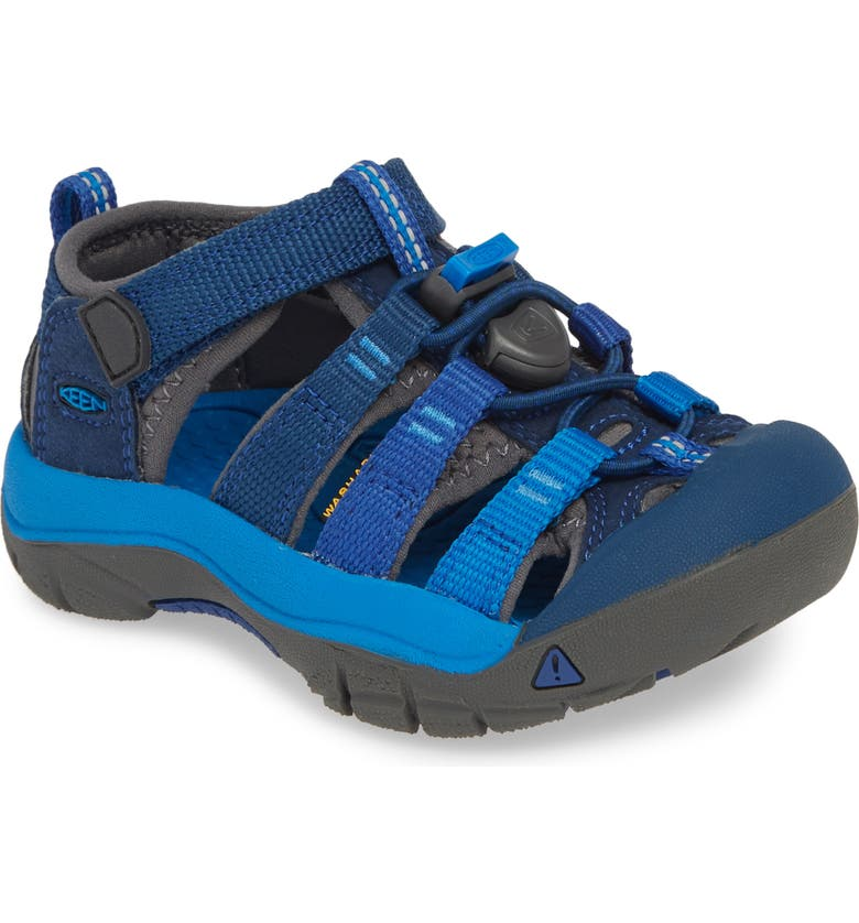 KEEN 'Newport H2' Water Friendly Sandal, Main, color, BLUE OPAL/ VIBRANT BLUE