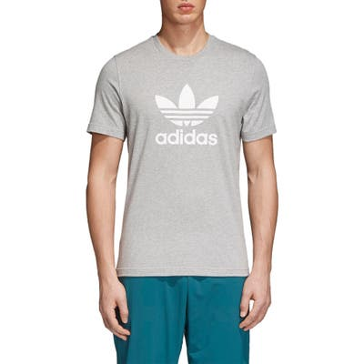 Adidas Originals Trefoil T-Shirt, Grey