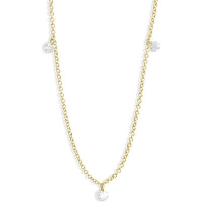 Bony Levy Floating 3-Diamond Necklace (Nordstrom Exclusive)